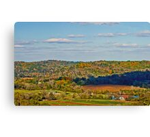 Water Valley from Natchez Trace Canvas Print