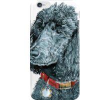 Black Poodle iPhone Case/Skin