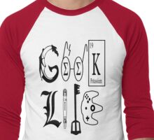 Geek Life Men's Baseball ¾ T-Shirt