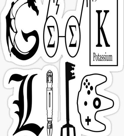 Geek Life Sticker