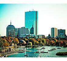 Back Bay, Boston, MA Photographic Print