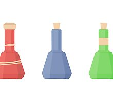 skyrim: minimalist potions by sproutmate