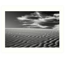 Ripples & Mare's Tails Art Print