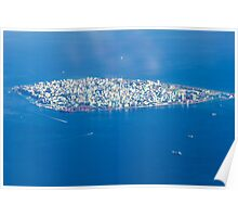Male' - Capital of Maldives Poster