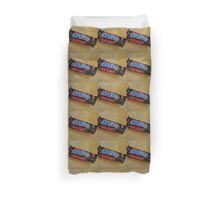 Snickers Fun Size Candy Bar Duvet Cover