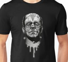Sugar Skull Frankenstein Unisex T-Shirt