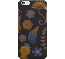 Sea Ballet in Psychedelic Colors, more apologies to Ernst Haeckel iPhone Case/Skin