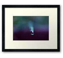 """Cold, So very cold"" Framed Print"