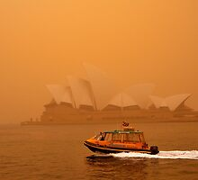 Sydney Dust Storm by Barry Culling