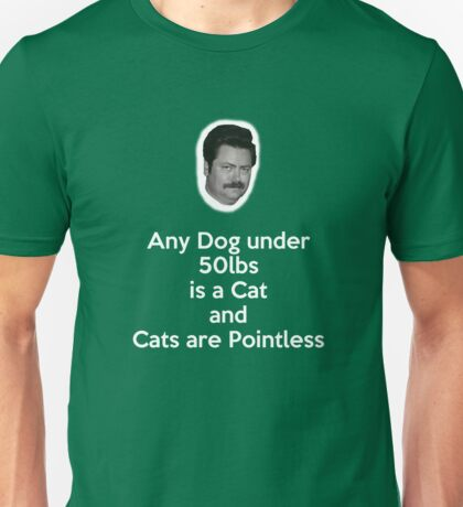 Dogs and Cats Unisex T-Shirt