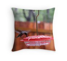 Sweet Nectar in the Rain Throw Pillow