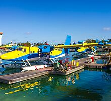 Hydroplane standing at Male airport, Maldives by Atanas Bozhikov NASKO