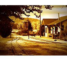 """Mountian Rail"" Photographic Print"