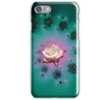 Spiral To A Rose Fractal iPhone Case/Skin