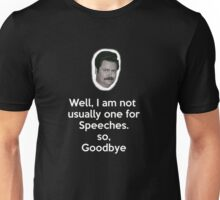 Speeches Unisex T-Shirt