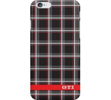 VW GTI - Interior Pattern iPhone Case/Skin