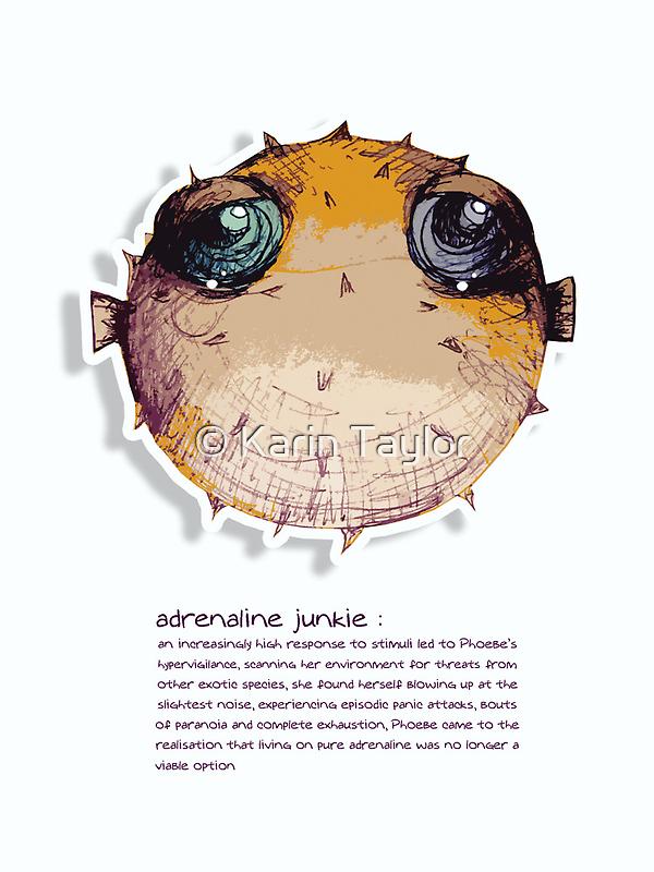 Little Profiles Adrenaline Junkie by © Karin  Taylor