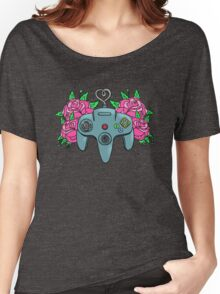 Retro Girl Gaming Women's Relaxed Fit T-Shirt