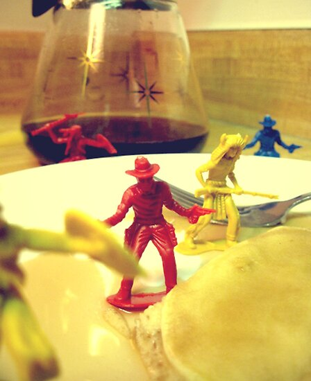 The Day The Cowboys & Indians Came To Breakfast by MagicalDecor
