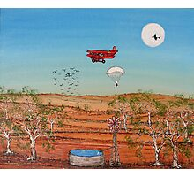 Snoopy and the Red Baron; Original Acrylic Painting Australia;Recent Achievements! This painting has been Published in the Australian Artist's Palette Magazine 21/Jan/2010  Photographic Print