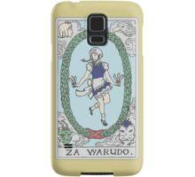 Za Warudo Samsung Galaxy Case/Skin