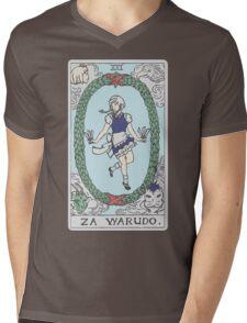 Za Warudo Mens V-Neck T-Shirt