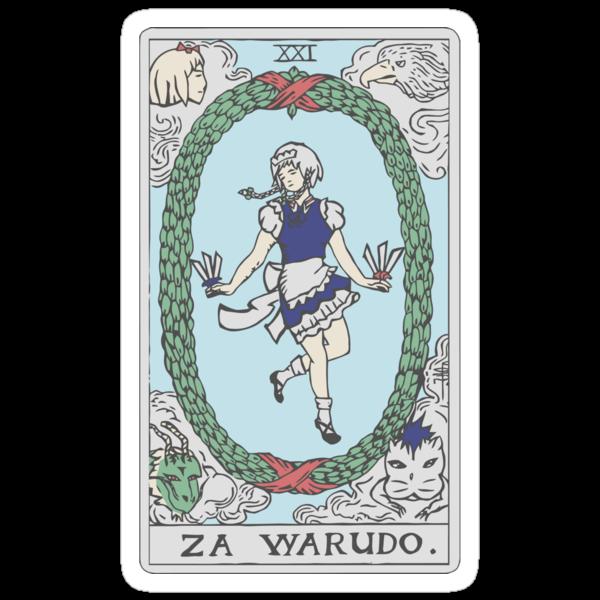 Za Warudo by Maya Zimmerman