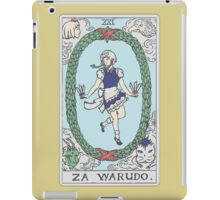 Za Warudo iPad Case/Skin