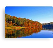 *FALL REFLECTIONS* Canvas Print