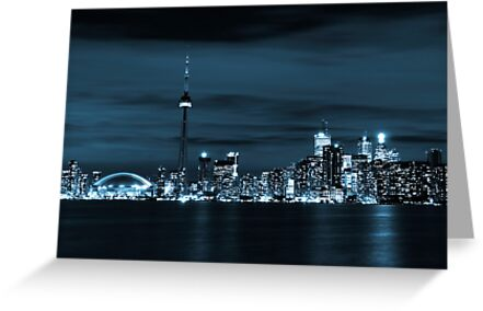 Toronto Skyline by Rob Smith
