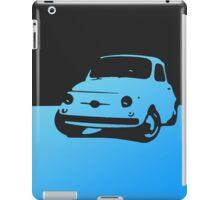 Fiat 500, 1959 - Light blue on black iPad Case/Skin