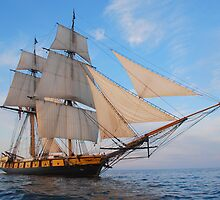 "The Brig Niagara ""Starboard Bow""  by mattmaples"