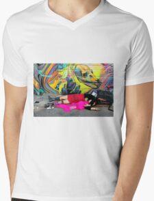 Semi-feral Human Mens V-Neck T-Shirt