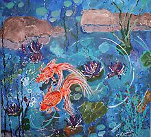 Lucky Goldfish   by eoconnor