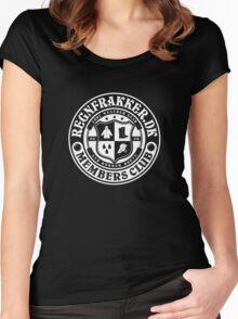 Regnfrakker.dk Members Club  Women's Fitted Scoop T-Shirt