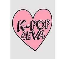 K-Pop 4EVA Photographic Print