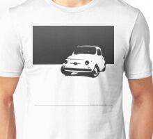 Fiat 500, 1959 - Black on white Unisex T-Shirt