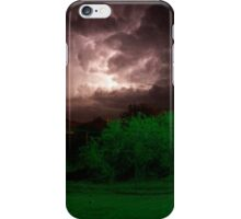 New Mexico Night Storm iPhone Case/Skin