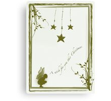 A wish for you this Christmas Canvas Print