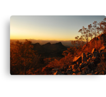 Dusk in the Southwest Canvas Print