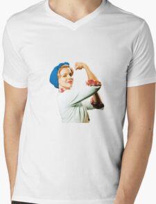 Betty McRae Mens V-Neck T-Shirt