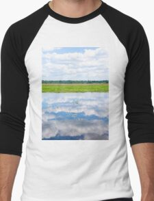 Florida Beauty 2 Men's Baseball ¾ T-Shirt
