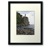 The Light on the Mountain - Split Rock Lighthouse, Minnesota Framed Print