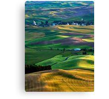 Steptoe Shadows Canvas Print