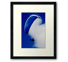 """""""Steaming Through The Skies"""" Framed Print"""