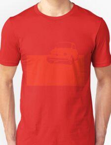 Fiat 500, 1959 - Red on black T-Shirt