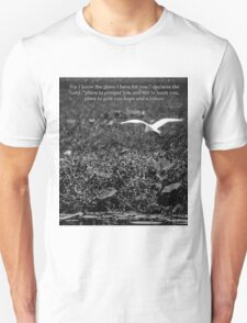 Jeremiah 29 11 Unisex T-Shirt