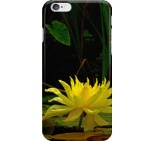Yellow Water Lily #337 iPhone Case/Skin