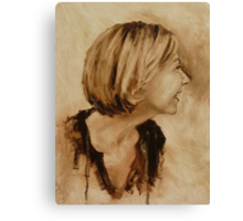 Fiona - lovely laughing side Canvas Print