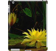 Yellow Water Lily #337 iPad Case/Skin